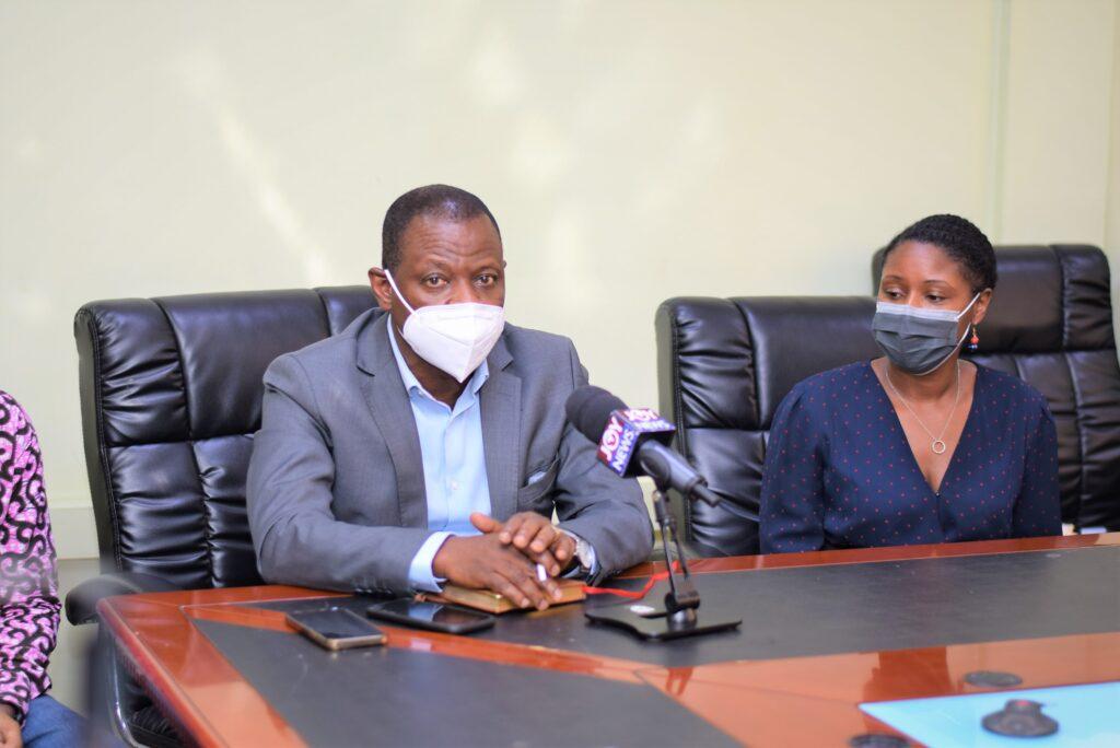 Director General for GHS, Dr Patrick Kuma Aboagye
