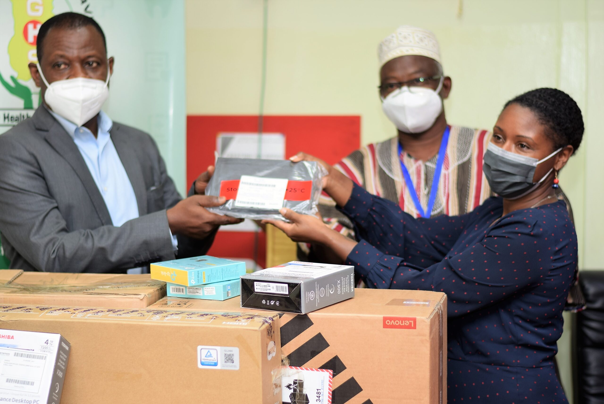 CfHSS DONATES SEQUENCERS TO THE GHANA HEALTH SERVICE